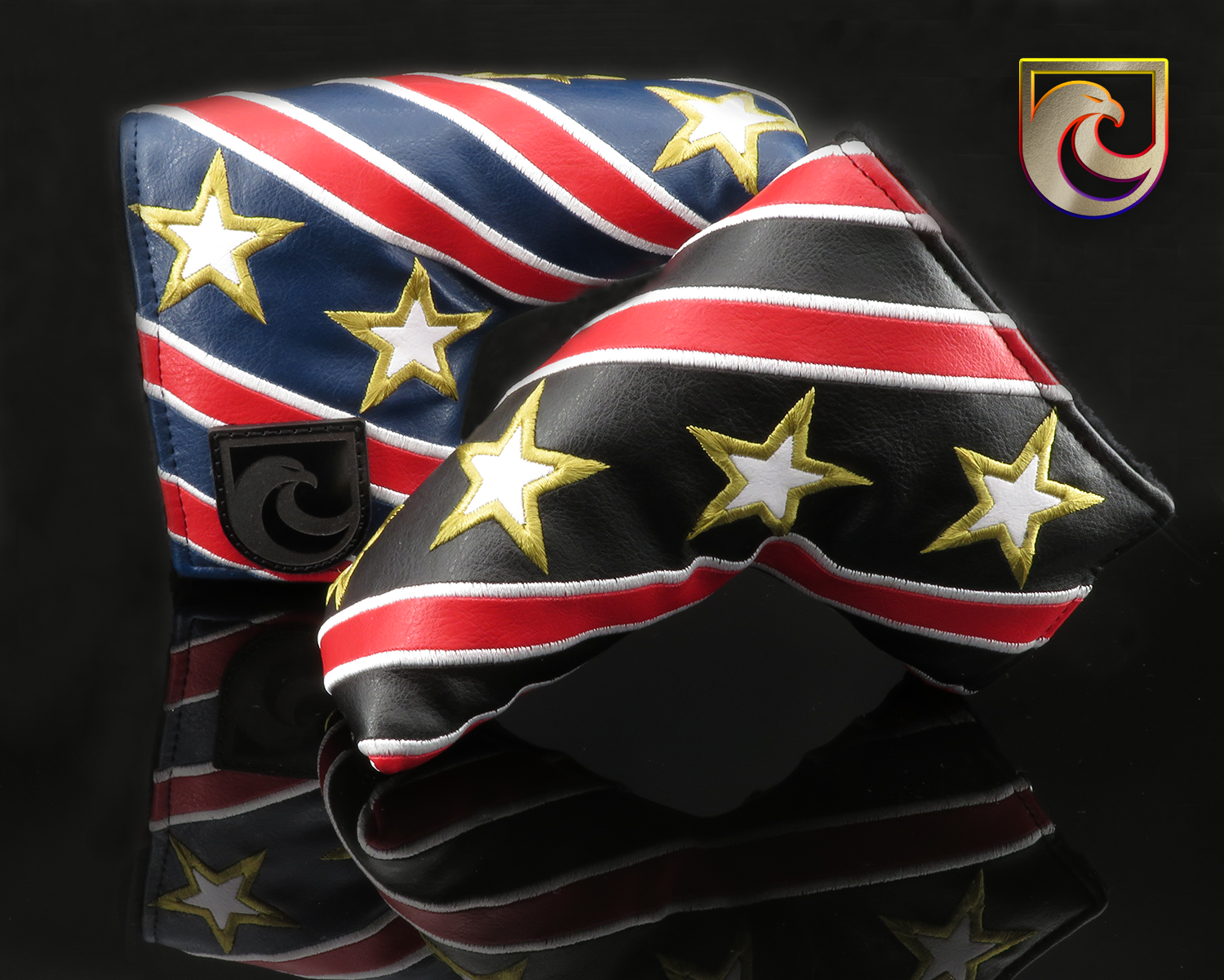 American Putter Company Major #3: Stars & Stripes (Pick from Black or Navy)