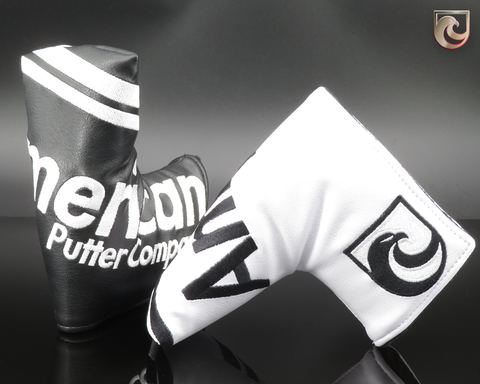 American Putter Company Royal Headcover : Black on White base or White on Black Base. PICK ONE!