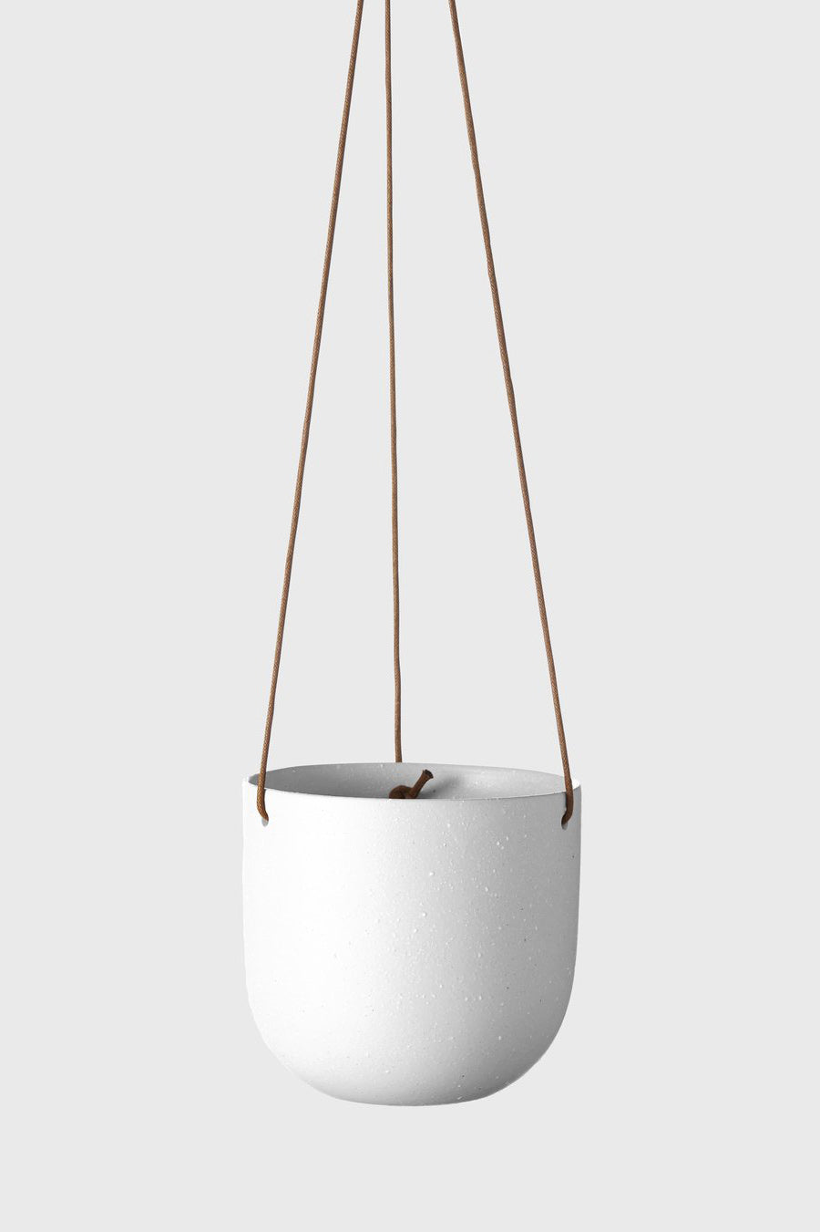 Cade Hanging Pot by Evergreen Collective - Small / Soft White