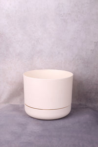 Mr Kitly x Decor 'Self Watering Pot' 170mm - White Linen