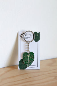 Eileen's Love 'Philodendron Pastazanum' Key Ring