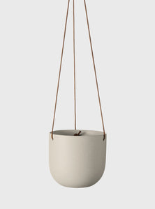Cade Hanging Pot by Evergreen Collective - Small / Ash