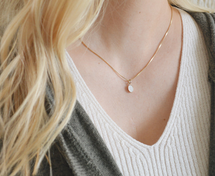 Strength Gold Necklace