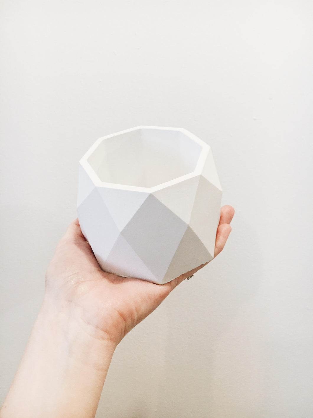 Geometric Octagon Planter