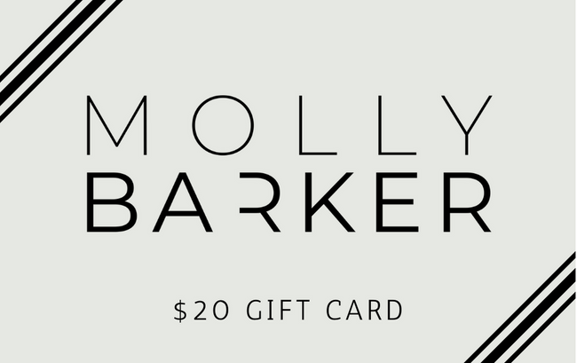 Molly Barker Gift Card | Molly Barker Australia | Designer Dog Accessories