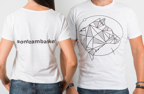 Team Barker T-Shirt | Molly Barker Australia | Designer Dog Accessories