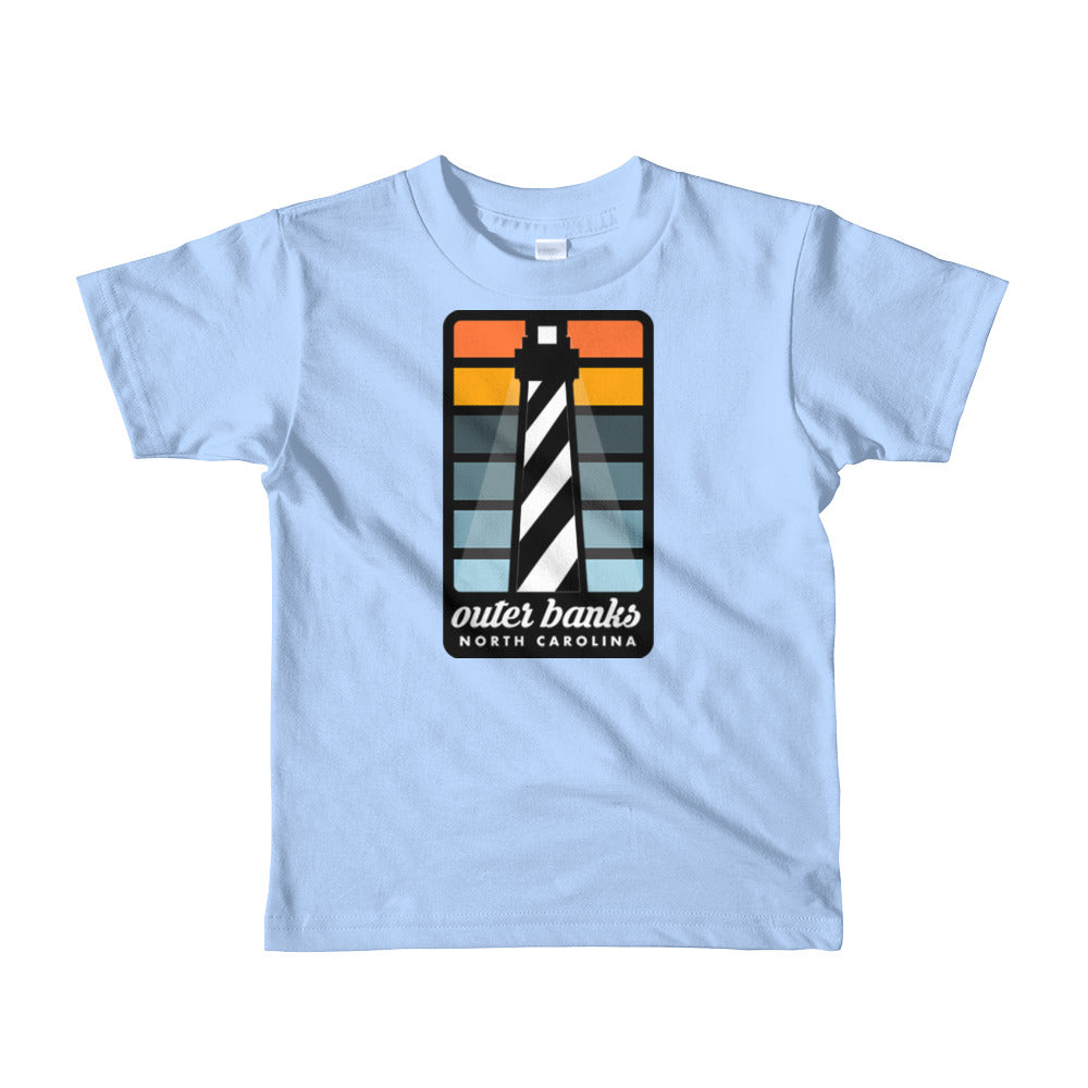 Cape Hatteras Outer Banks Short sleeve kids t-shirt