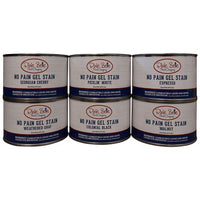 No Pain Gel Stain, Colonial Black