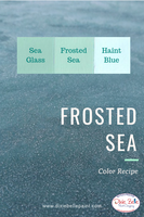 Sea Glass Chalk Mineral Paint