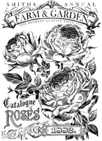 Catalogue of Roses Paintable Décor Transfer™