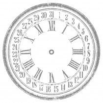"Clock 26"" Decor Transfer™"
