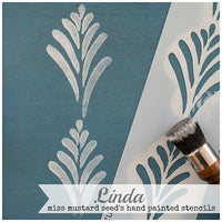 Hand Painted Stencils #2 Linda