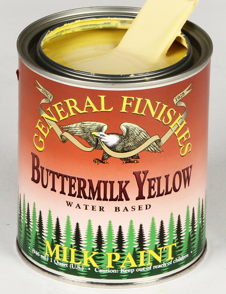 Buttermilk Yellow Milk Paint