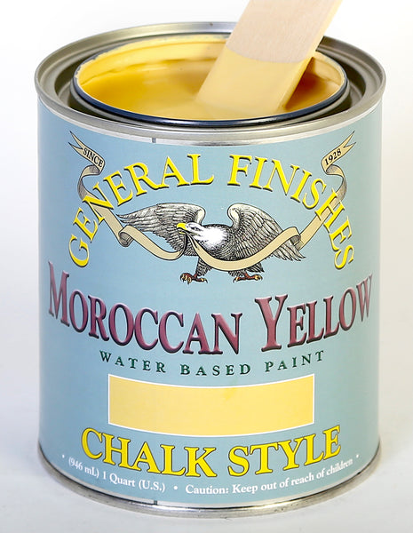 Moroccan Yellow Chalk Paint