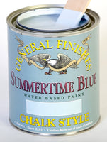 Summertime Blue Chalk Paint