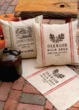 "Seed Labels Homestead Pillow 18"" x 18"""