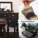 Typewriter Milk Paint