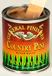 Product shot of General Finishes Country Pine Wood Stain in open pint can.