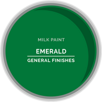 Emerald Milk Paint