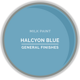 Halcyon Blue Milk Paint