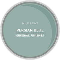 Persian Blue Milk Paint
