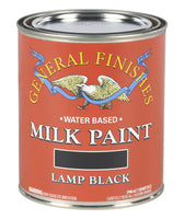 Lamp Black Milk Paint