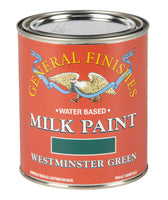 Westminster Green Milk Paint