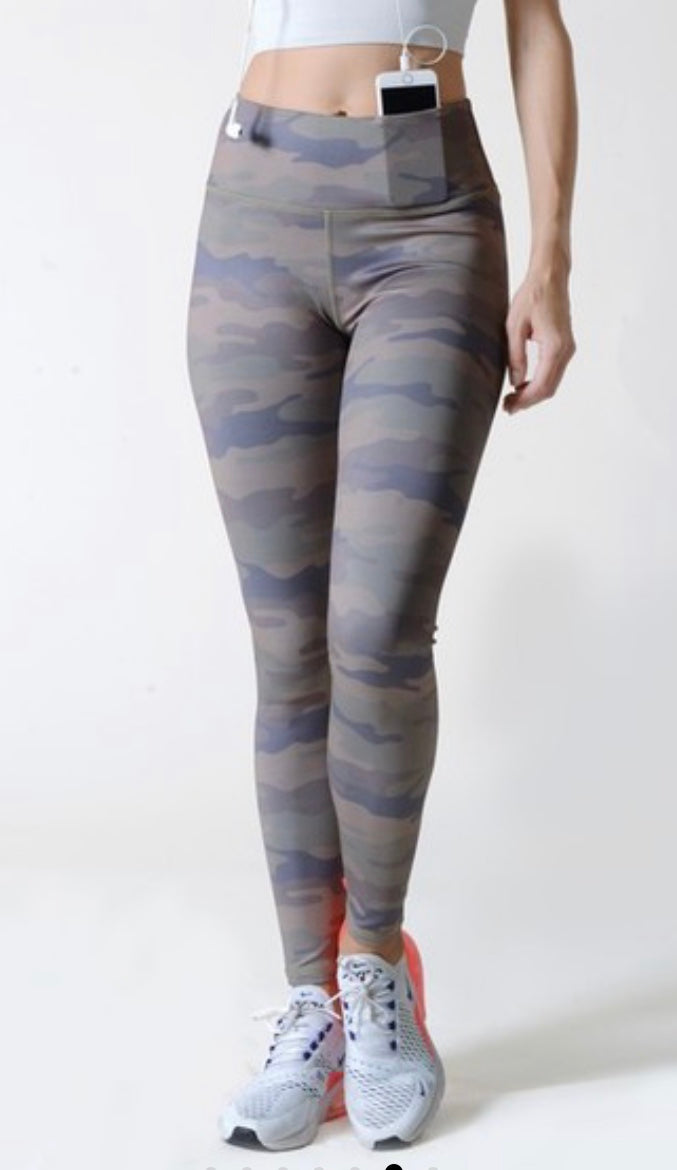 Camo Leggings (green)