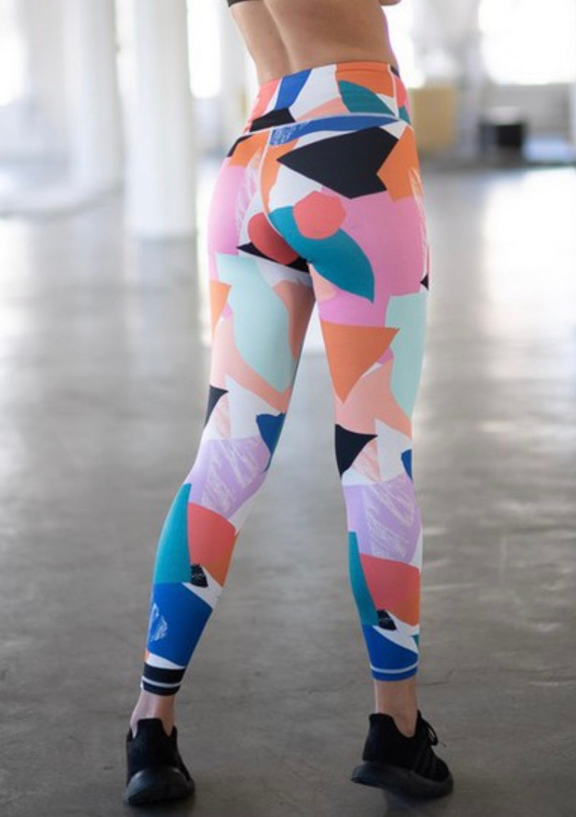 Painted Leggings
