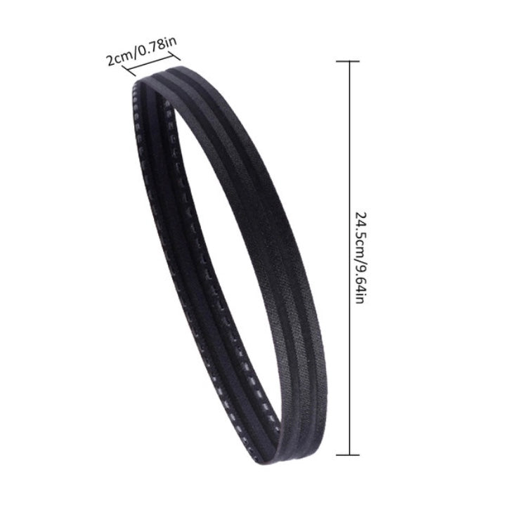 Stay on Free Skinny Headband (black)