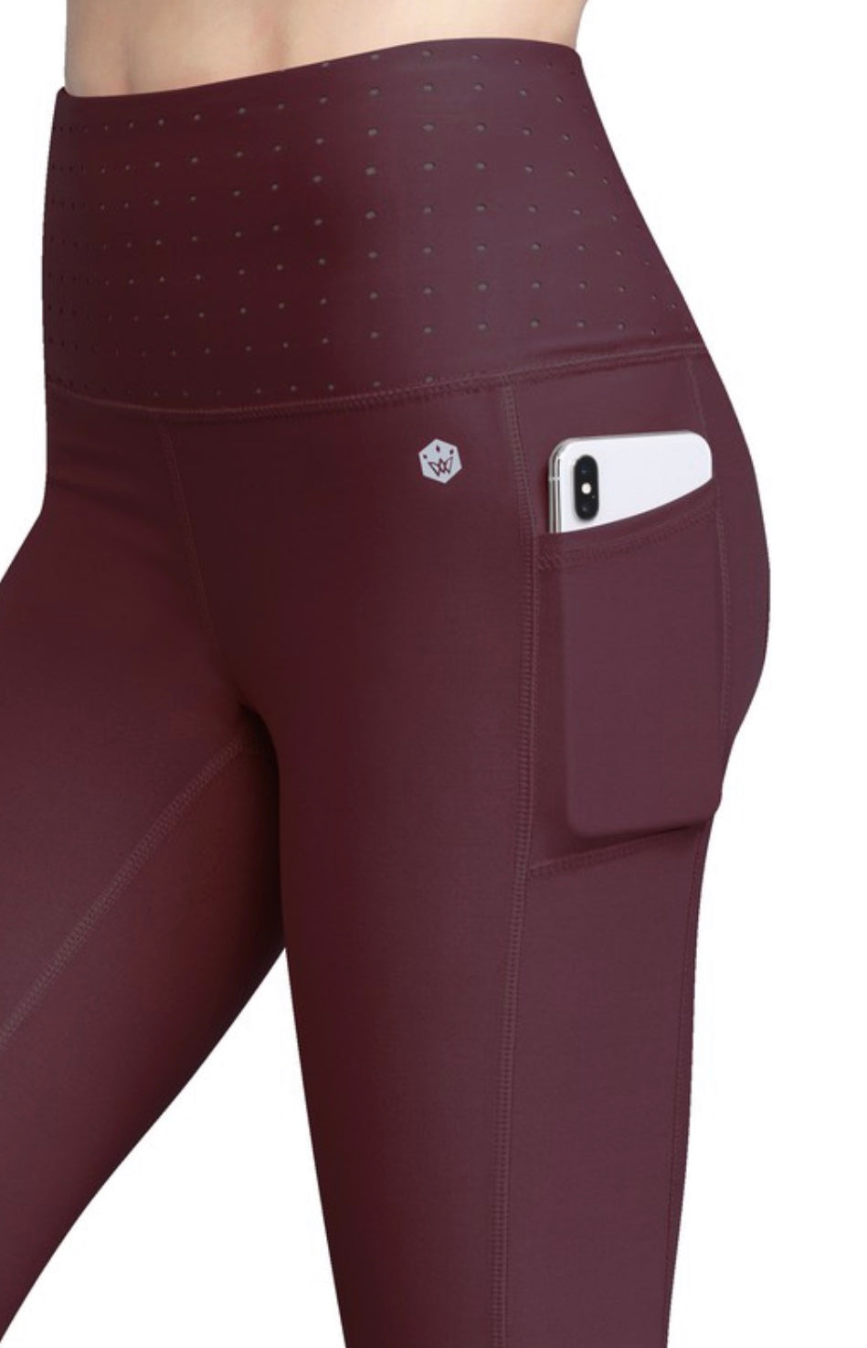 Form Leggings (wine)