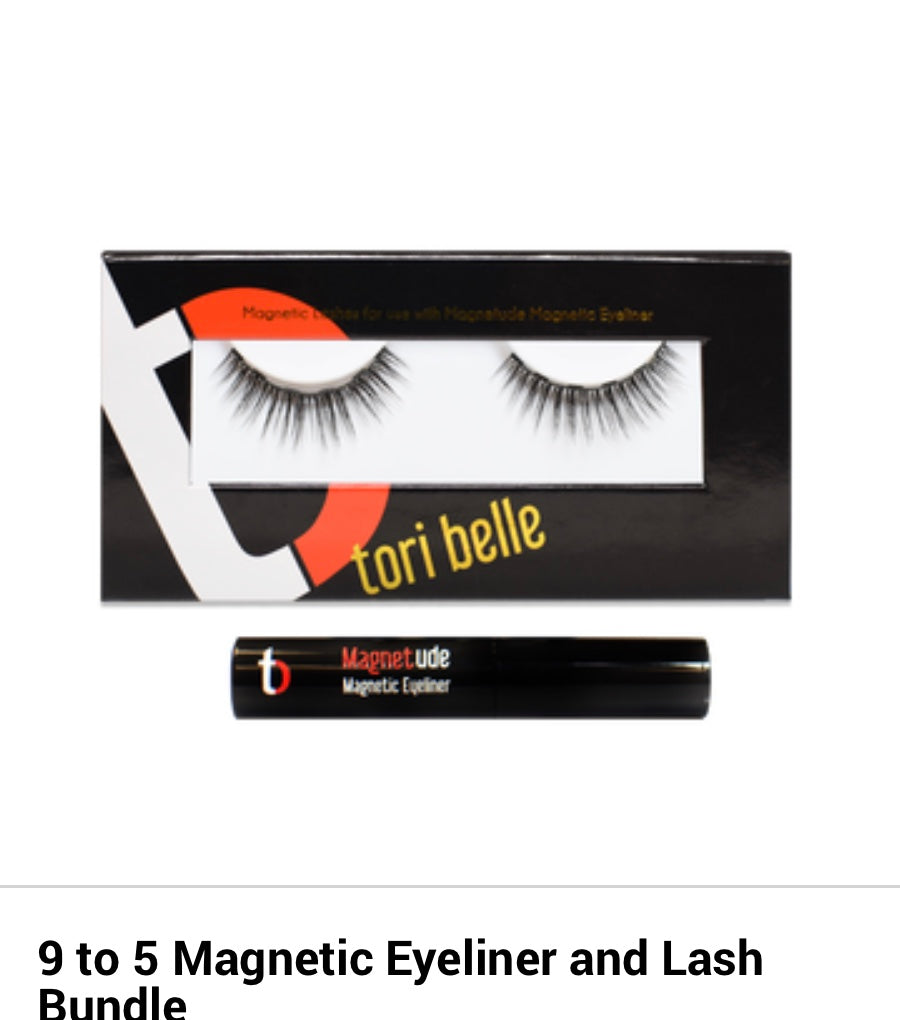 9-5 Magnetic Lashes and Eyeliner