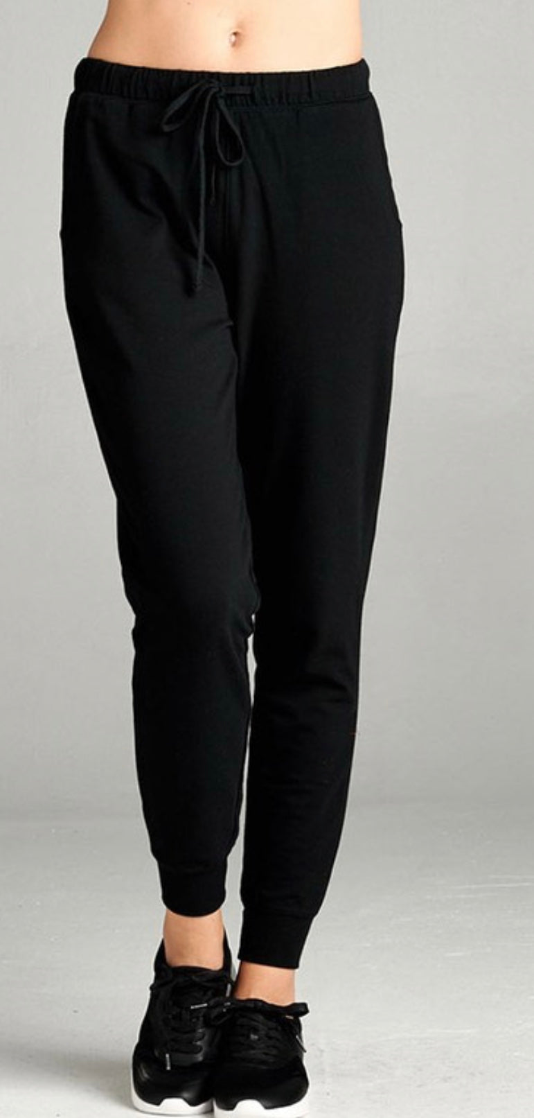 Terry Joggers (black)