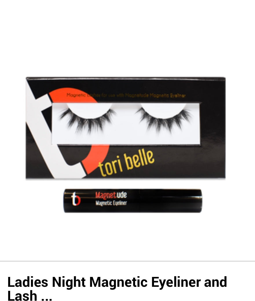 Ladies Night Magnetic Lashes and Eyeliner