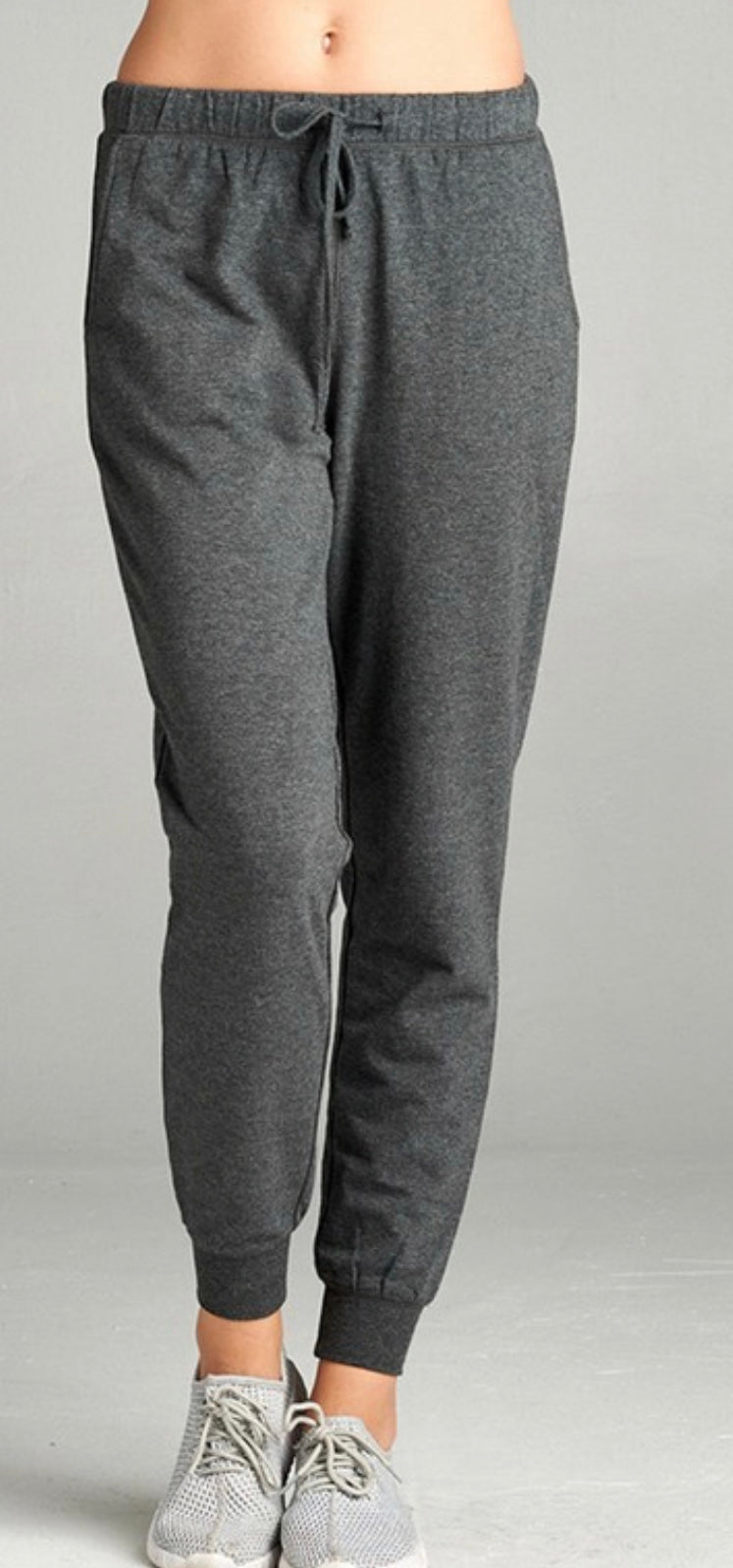 Terry Joggers (charcoal)
