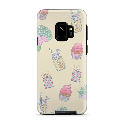 Summer Party Lemonade Flowers Cupcakes Cell Phone Case -  iPhone & Samsung Models