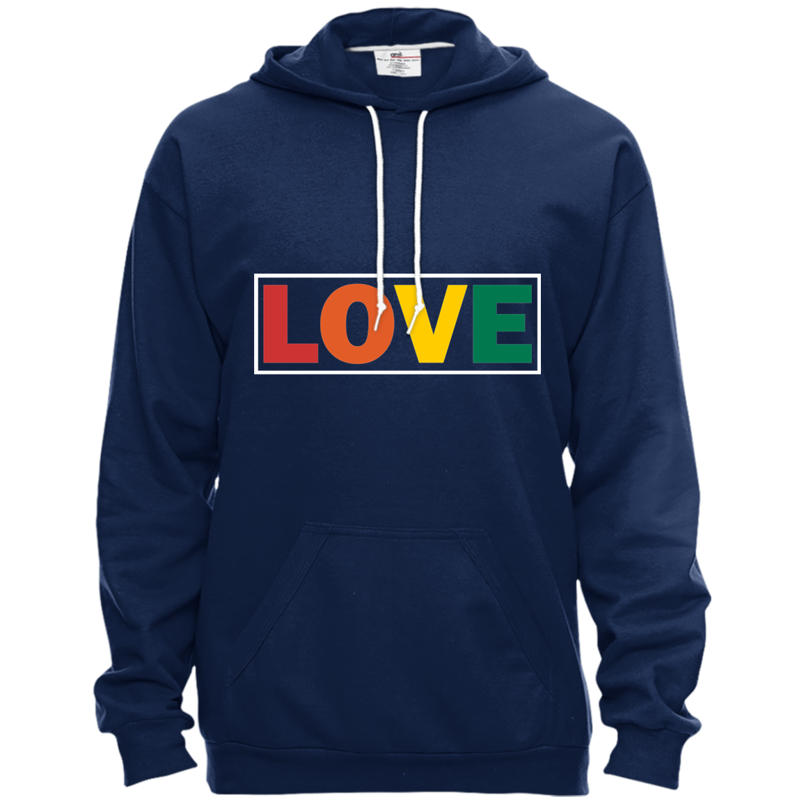 LOVE Pullover Hooded Fleece