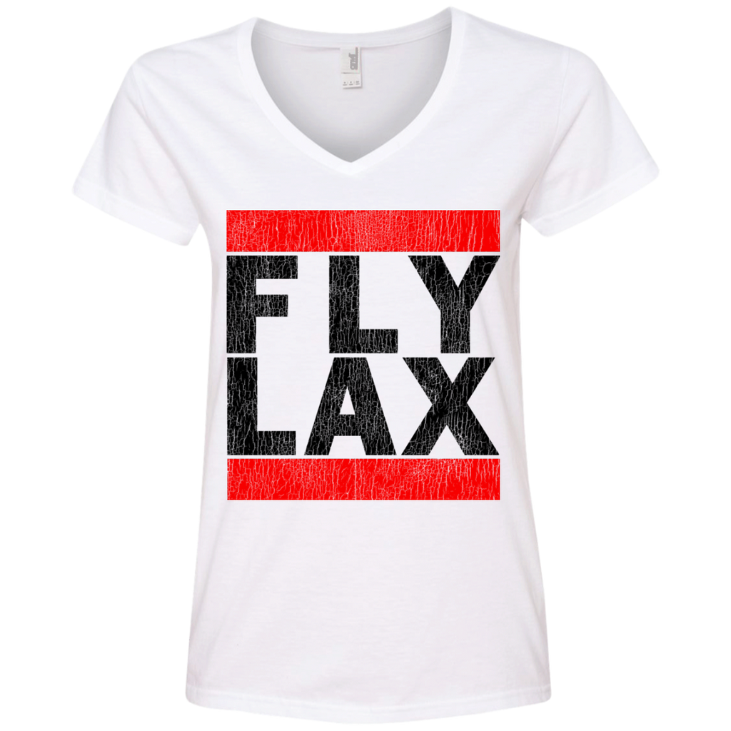 WOMEN'S FLY LAX BLACK VINTAGE PRINT SHIRTS