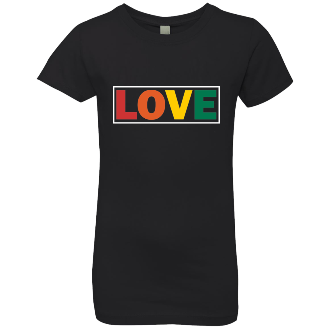 LOVE GIRLS' PRINCESS T-SHIRT