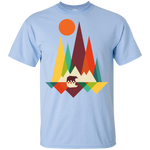 BEAR IN THE WILDERNESS YOUTH ULTRA COTTON T-SHIRT