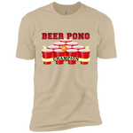 Beer Pong Champion Premium Short Sleeve T-Shirt