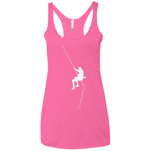 Rock Climbing Ladies' Triblend Racerback Tank