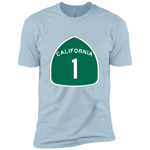 California Highway 1 Premium Short Sleeve T-Shirt