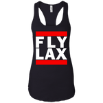 WOMEN'S FLY LAX WHITE CLASSIC PRINT SHIRTS