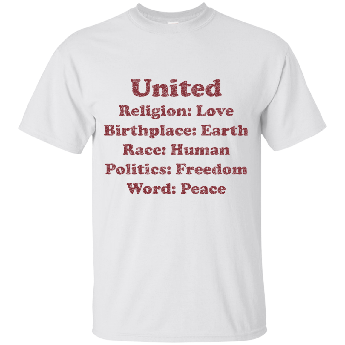 UNITED YOUTH COTTON T-SHIRT
