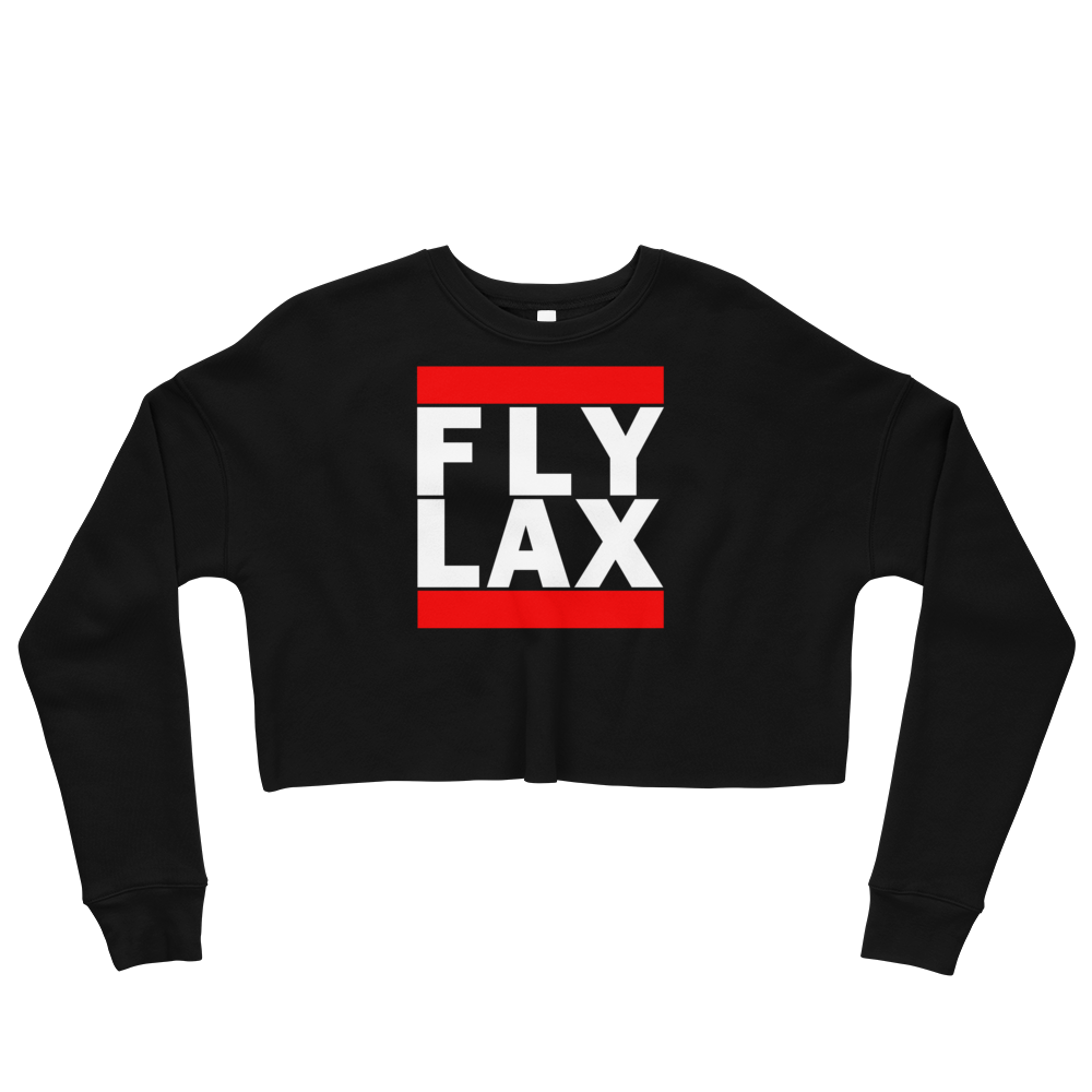 FLY LAX (LOS ANGELES) CROP SWEATSHIRT