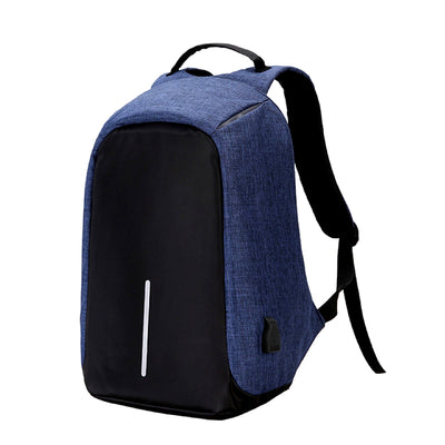 Anti-Theft Backpack Blue