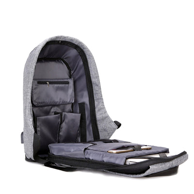 Anti-Theft Backpack Interior
