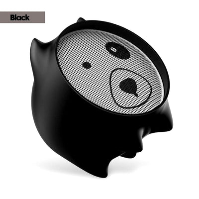 Dogz Portable Bluetooth Wireless Speaker Black Color