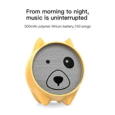 Dogz Portable Bluetooth Wireless Speaker Long Last Battery